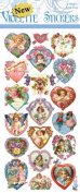 Violette Stickers Valentine Mini Hearts