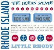 Rhode Island Stickers USA Scrapbook Stickers