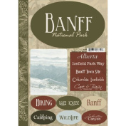 Banff National Park Cardstock Scrapbook Stickers