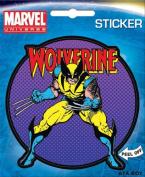 Wolverine on Purple X-Men Marvel Comics Die Cut Vinyl Sticker Decal
