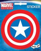 Captain America Shield Marvel Comics Die Cut Vinyl Sticker Decal