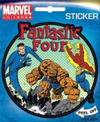 Fantastic Four Group Team Marvel Comics Die Cut Vinyl Sticker Decal