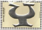 Pressed Petals Scrap Metal Alphabet Y - 10cm