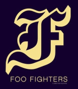 "Foo Fighters - Navy & Gold ""F"" - Die Cut Vinyl Sticker Decal"