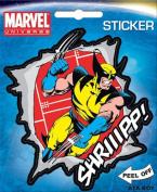Wolverine Shriiiippp! X-Men Marvel Comics Die Cut Vinyl Sticker Decal