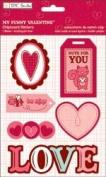 My Funny Valentine Chipboard Stickers // TPC Studio