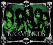 Black Veil Brides - Skull Frame - Die Cut Vinyl Sticker Decal