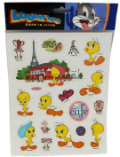 Looney Tunes In Paris Stickers