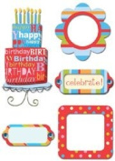 Provo Craft Rob & Bob Studio Paper Stickers-Celebration