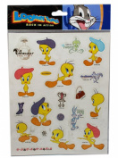 Looney Tunes Tweety Bird in France In Paris Stickers
