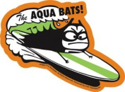 The Aquabats - Surf Bat - Die Cut Vinyl Sticker Decal