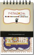 Rusted Sun Notebook Journal 13cm x 20cm -