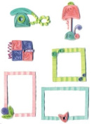 Provo Craft Stand Outs Quilled Stickers-Teen Talk