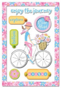 Provo Craft Rob & Bob Studio Paper Stickers-Miss Bliss