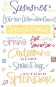 Colour Splash Seasons Title Rub-Ons