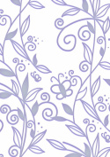 Fine Designs - One World 5x7 - Embossing Folder