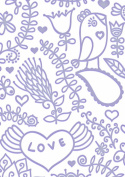 Fresh & Fun - Smooch 5x7 - Embossing Folder