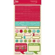 Jillibean Soup Christmas Cheer Chowder Alphabet & Shape Stickers