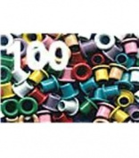 American Tag Company Eyelets Assorted 40316