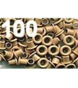American Tag Company Eyelets 40324 1/8 Beige