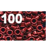 American Tag Company 40317 Eyelets Red 1/8
