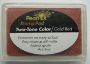 Pearl Ex Ink Pad-two Tone Gold Red