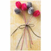 Trend.Setter Petite Velvet Roses 6/Pkg-2 Colours/3 Each