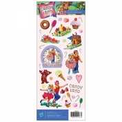 Cardstock Stickers 12cm x 30cm Sheet-Candy Land Vintage