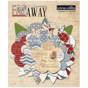 Far & Away Paper Flower Layers 36/Pkg-