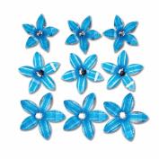 Twinkle Blooms 9/Pkg-Blue