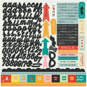 Hey Kid Cardstock Stickers 30cm x 30cm -Element