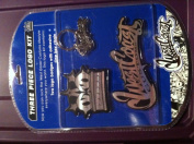 West Coast Customs - Logo Kit - Black/silver
