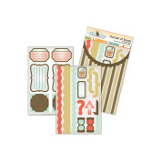 Nikki Sivils Stripes Pocket of Treats Stickers