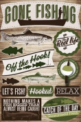 Reminisce Signature Series Fishing Dimensional Scrapbook Stickers