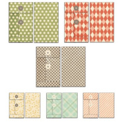 Fancy Pants Happy Go Lucky Patterned Envelope Embellishments