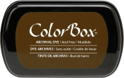 ColorBox Archival Dye Ink Full Size Inkpad, Mudslide
