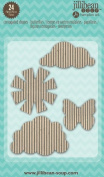 Jillibean Soup Stampables Corrugated Butterflies