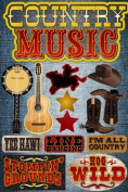 Reminisce Signature Series Country Music Dimensional Scrapbook Stickers