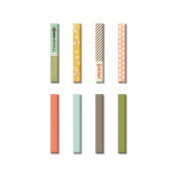 Fancy Pants Happy Go Lucky Clothespin Embellishments