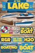 Reminisce Signature Series Boating Dimensional Scrapbook Stickers