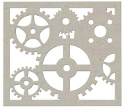 Wild at Heart DC59 005 Fabscraps Cog Border Die Cut for Scrapbooking