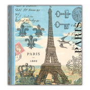Michel Design Works Paris Note Pad Book, 7.6cm by 8.9cm
