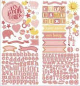 Story Time Girl Cardstock Stickers 15cm x 30cm 2/Sheets-Accent & Alpha