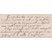 Hero Arts Mounted Rubber Stamps-Old French Writing