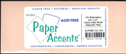 Paper Accents Heavy Card Stock 100 Die Cut Blank Bookmarks 6.4cm x 15cm Asst. Colours Buffered Archival Quality