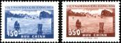 Vietnam Stamps - 1959, Sc 89-90, VN Code # 47, Ha Long bay, MNH, F-VF
