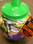 Bucket of Monster Mansion Foam Stickers