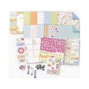 Deja Views - Baby Collection - 8 x 8 Album Kit BOY