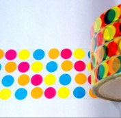 Polka Dots Transparent Deco Tape Sticker Tape