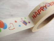 1 Roll Japanese Washi Tape Masking Tape Decoration Tape